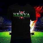 Fashion-Male-Female-Unisex-T-Shirt-Kenya-fan-after7s-Front-Black-plain-2